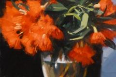 18132 Red Gum Blossoms 20x30cms